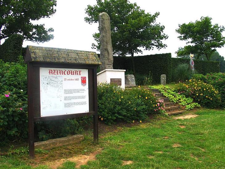 Azincourt_Monument