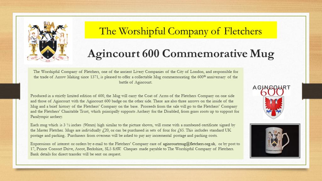 Agincourt Commemmorative Mug (1)